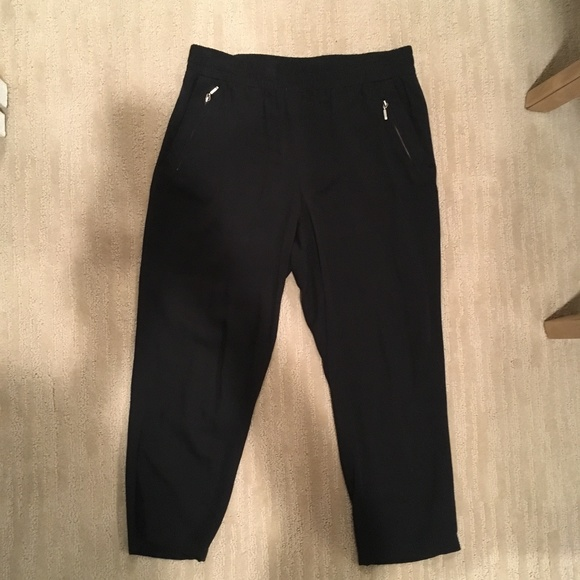 Macy's Pants - Black Jogger-Style Dress Pants
